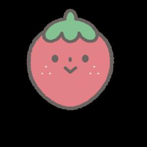 保育所開園サポートイチゴちゃんコースのキャラクター絵