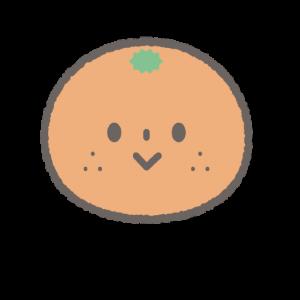 保育所開園サポートミカンちゃんコースのキャラクター絵