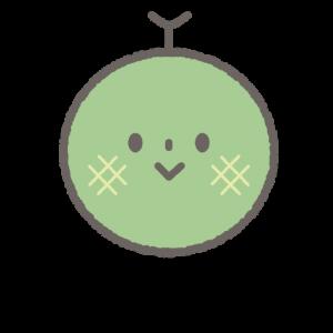 保育所開園サポートメロンちゃんコースのキャラクター絵